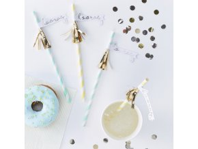 pm 404 gold tassel hooray straws min