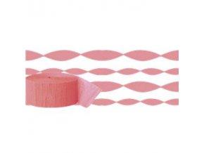 Coral Crepe Paper Streamer STRECCOR v1