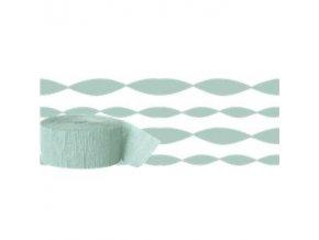 Mint Green Crepe Paper Streamer STRECMIN v1