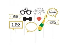 wedding day photo booth props PROP280 v1
