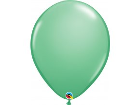 wintergreen latex balloon 16 inch 41 cm qualatex 43905