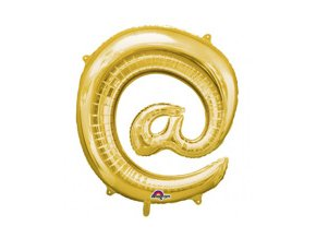 eng pm Mini Shape Symbol @ Gold Foil Balloon 33 x 35 cm 1 pc 23940 2