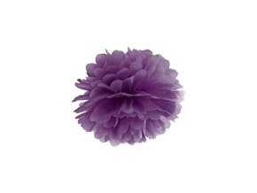 eng pm Blotting paper pompom purple 25 cm 1 pc 26464 1