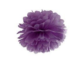 eng pm Blotting paper pompom purple 35 cm 1 pc 26471 1