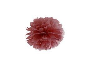 eng pm Blotting paper Pompom marsala 25 cm 1 pc 26467 1