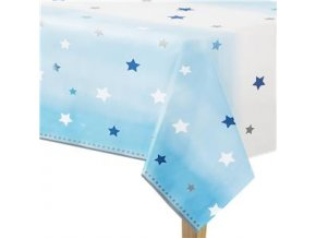 One Little Star Boy Plastic Tablecover OLSBTABL v1