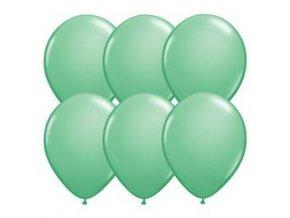 eng pl Green pastel balloons 12 100 pcs 20491 2