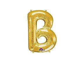 Gold Letter B Balloon Foil FOIL2369 th2