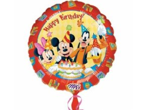 Fóliový balón clubhause Mickey Mouse 43cm