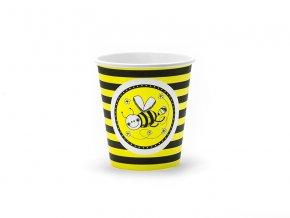Pohár pružkový Včielka 6ks v balení
