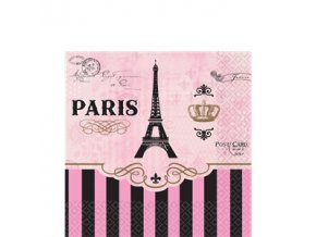 A Day in Paris Beverage Napkin DIPABEV v1