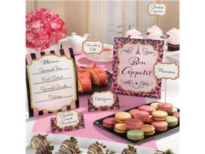 A Day in Paris Buffet Decoration Kit DIPABUFF v1