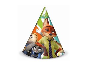eng pm Zootropolis Party Hats 6 pcs 24231 2