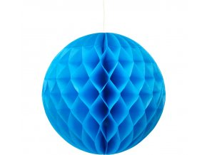 kula dekoracyjna niebieska