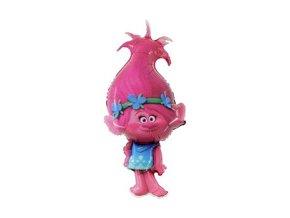 eng pm Poppy Trolls Foil Balloon round 100 x 53 1 pc 26400 2
