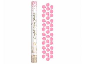 Vystrelovacie konfety Pink lupene