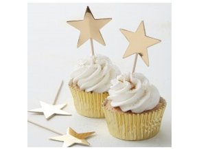 ms 102 gold star cupcake topper min