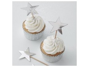 ms 135 silver star cupcake toppers min