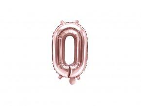 eng pl Mini Shape Number 0 Rose Gold Foil Balloon 35 cm 1 pc 34060 3