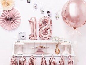 eng pl Mini Shape Number 1 Pink Foil Balloon 35 cm 1 pc 34021 2