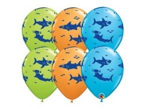 11 inch es fun sharks special assortment lufi 25 db csomag q98221