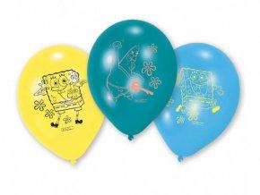 eng pl SpongeBob Latex Balloons 23 cm 6 pcs 26938 1