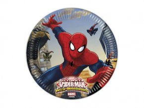 eng pl Paper plates Ultimate Spiderman Web Warriors 20 cm 8 pcs 15909 2