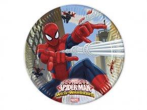 eng pl Paper plates Ultimate Spiderman Web Warriors 23 cm 8 pcs 15907 1