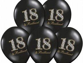 eng pl 18th Birthday Pastel Balloons 18 brilliant 37 cm 5 pcs 8348 4