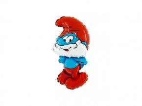 eng pl Papa Smurf Foil Balloon 37 cm 13005 2