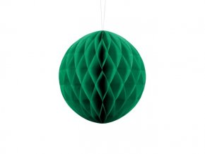 eng pl Honeycomb Ball emerald green 20 cm 1 pc 20684 6