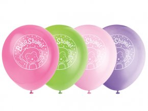 eng pl Baby Shower Latex Balloons 31 cm 8 pcs 24393 1
