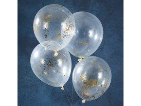 gd 404 gold glitter star confetti balloons min