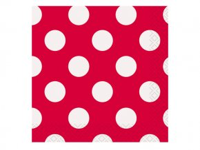 eng pl Ruby red dots lunch napkins 33 cm 16 pcs 25248 2