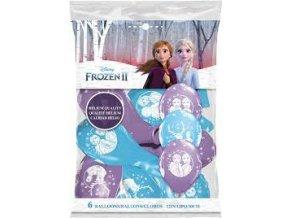 eng pl Frozen Latex Balloons 23 cm 6 pcs 20371 2