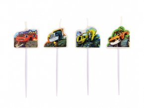 eng pl Mini Figurine Candles Blaze 4 pcs 26312 2