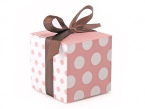 eng pl Small gift boxes with dots pink 1 packet 10 pcs 19853 2