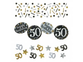 eng pl Confetti 50 Sparkling Celebrations Silver Gold 34 g 26021 1