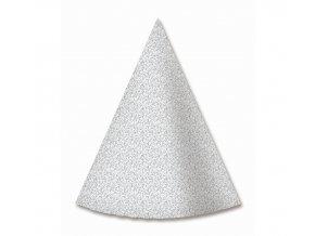 czapeczki papierowe srebrne