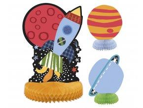 rozety dekoracyjne kosmos 2 szt 15 cm 1 szt 2