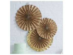 pm 954 fan decorations kraft polka dot min 1