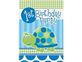 first birthday turtle invitation cards 1TURINVI (1)