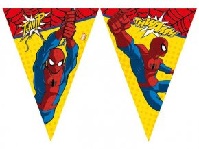 eng pl Triangle flag banner Ultimate Spiderman Power 230 cm 1 pc 22175 2