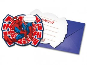 eng pl Invitation card envelope The Ultimate Spiderman Power 1 pc 21467 1