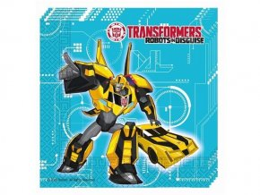 eng pl Transformers Power Lunch Napkins 33 cm 20 pcs 29382 1