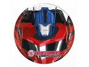 eng pl Transformers Power Paper Plates 20 cm 8 pcs 29380 1