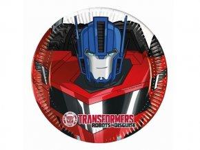 eng pl Transformers Power Paper Plates 20 cm 8 pcs 29380 1