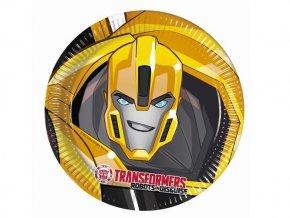eng pl Transformers Power Paper Plates 23 cm 8 pcs 29379 2