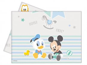 eng pl Plastic tablecover Infant Mickey 120 x 180 cm 1 pc 21439 3