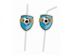 eng pl Drinking straws Football Fans 6 pcs 29367 1
